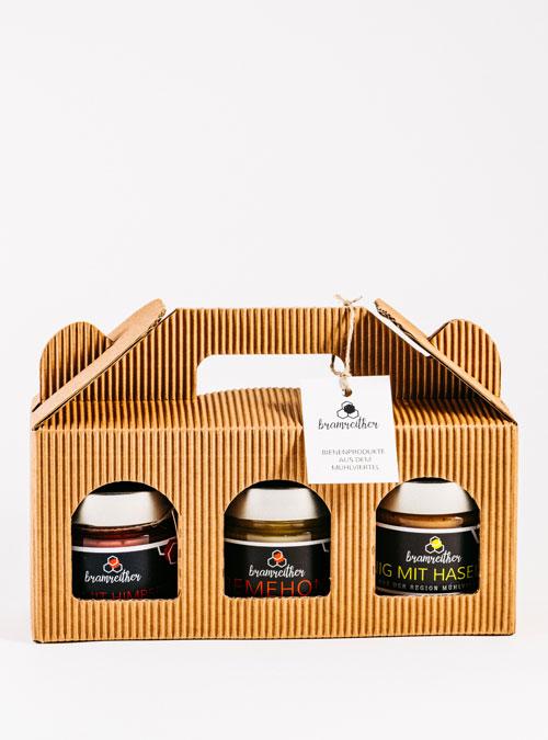 Bio Imkerei Bramreither - Unsere Produkte - Mühlviertel - Honig 3erlei Spezial - regional kaufen