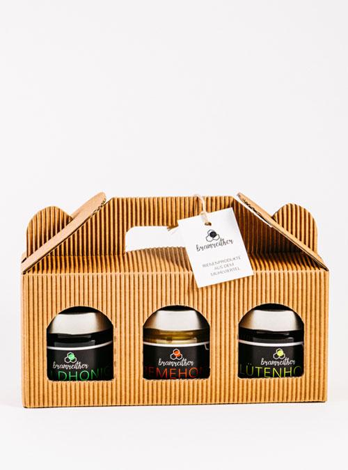 Bio Imkerei Bramreither - Unsere Produkte - Mühlviertel - Honig 3erlei - regional kaufen