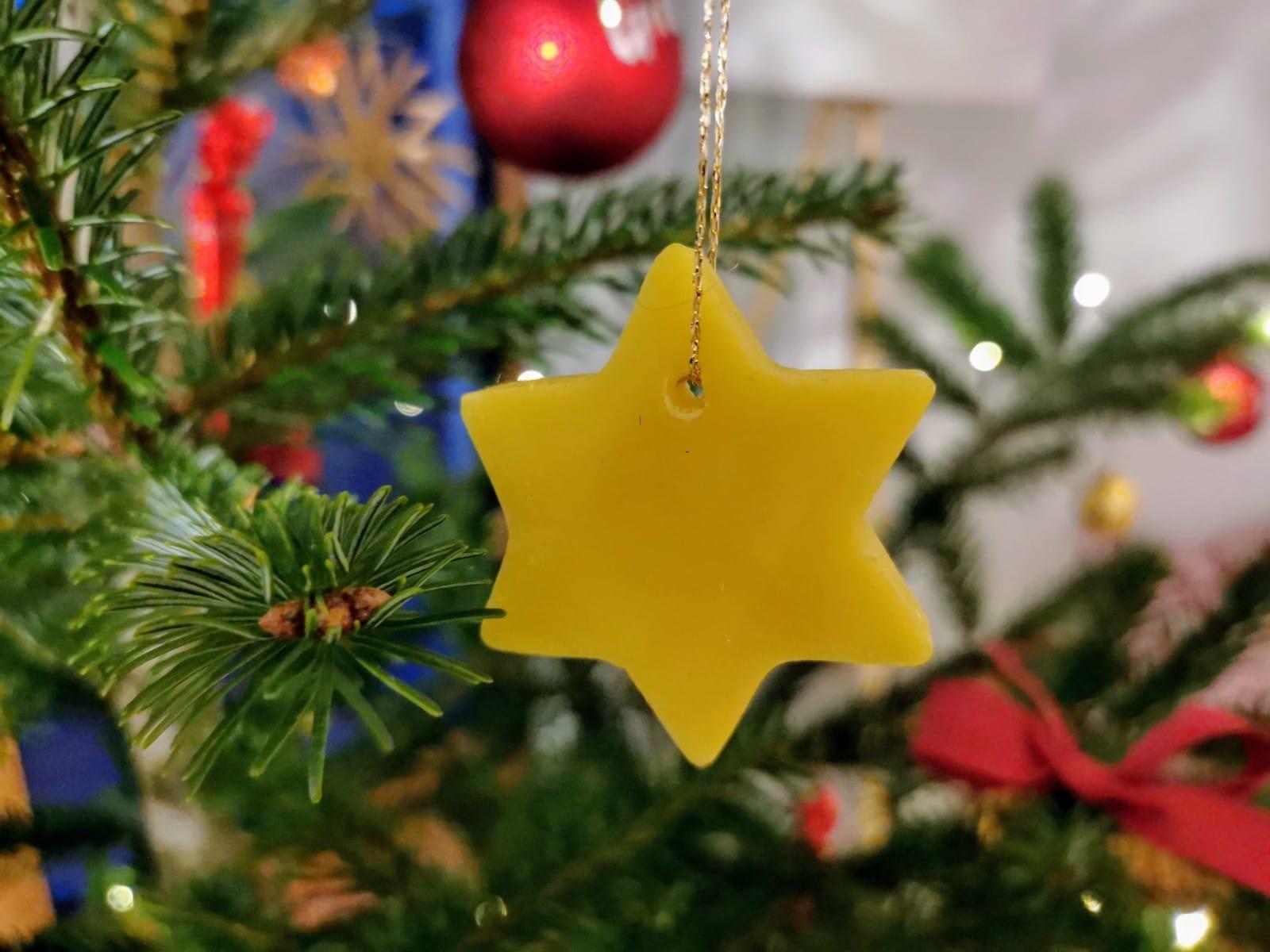 Bio Imkerei Bramreither - Bienenprodukte - Honig - Mühlviertel - Weihnachten - Christbaumschmuck - Weihnachtsstern