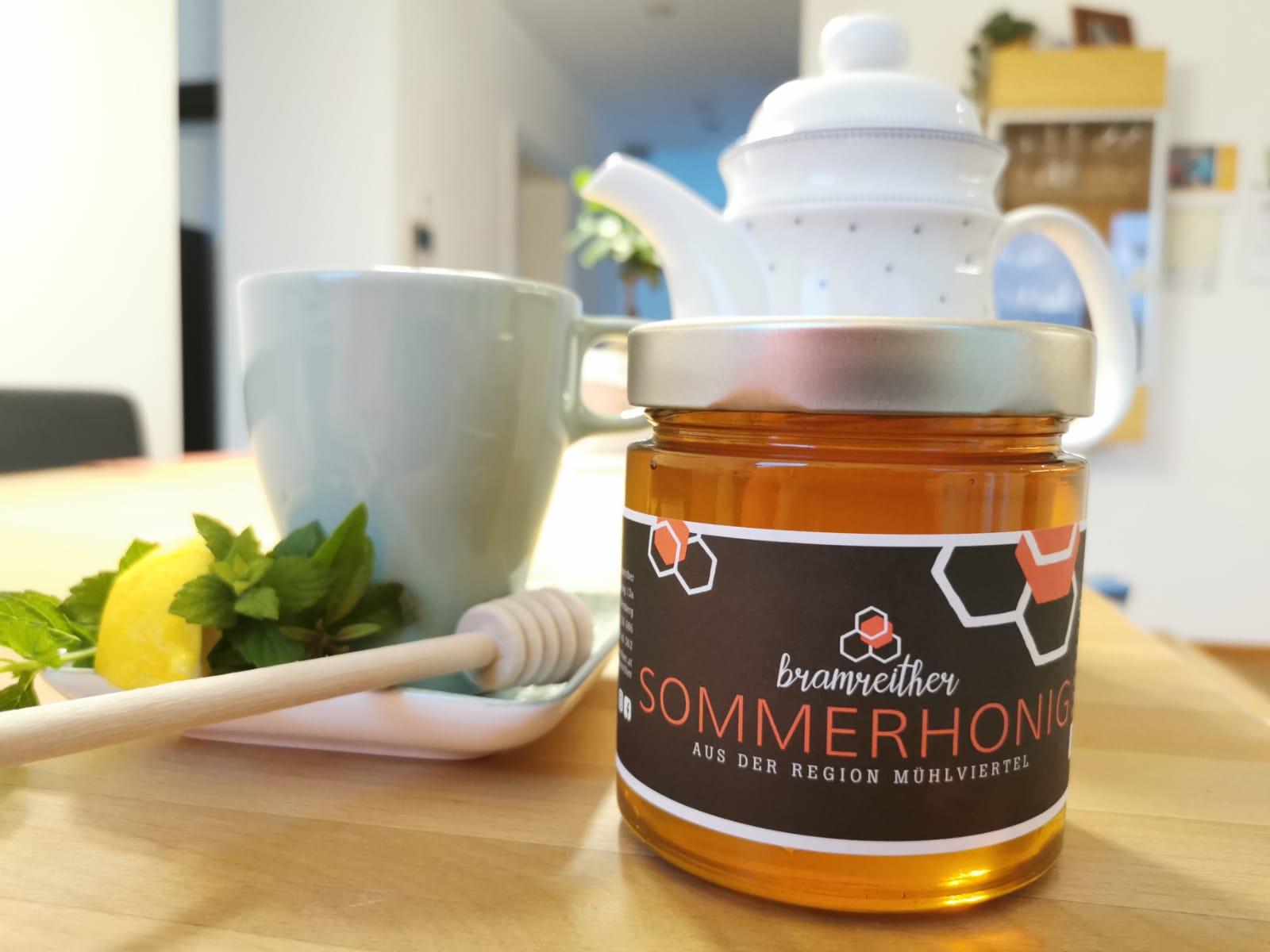 Bio Imkerei Bramreither - Mühlviertel - Rohrbach - Helfenberg - Sommerhonig - Blüte- mit Waldhonig - Süße Grüße vom Sommer - Bienenprodukte regional kaufen